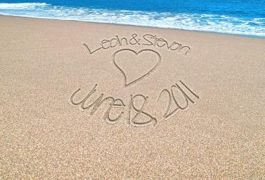 name-in-sand
