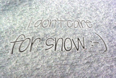 name-in-snow-template