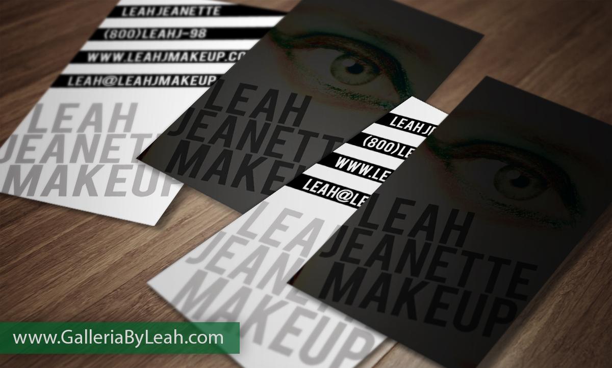 Business Cards for Make up Artist – Portfolio